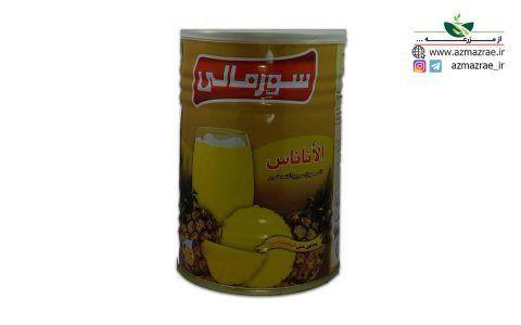پودر شربت آناناس سورمالی